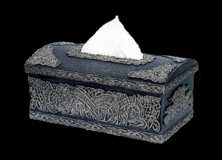 schatulle t cher box in keltischem design. Black Bedroom Furniture Sets. Home Design Ideas